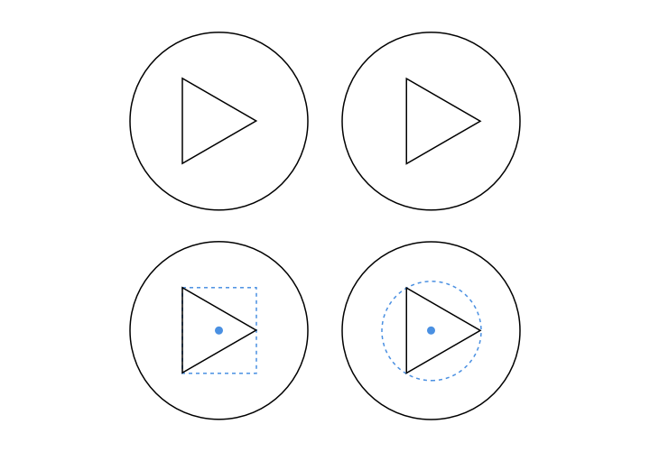 Example for circle alignments