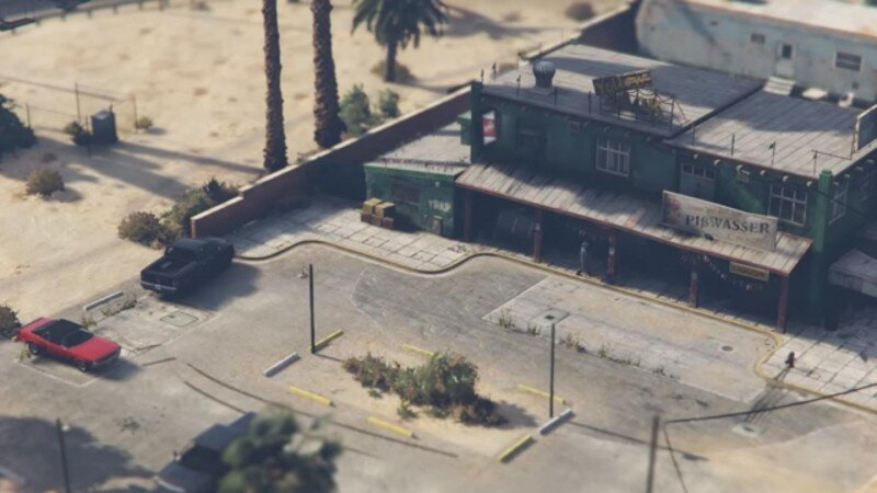 Isometric GTA V
