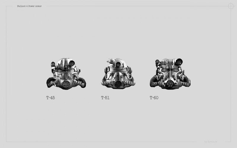 Power Armor Helmets